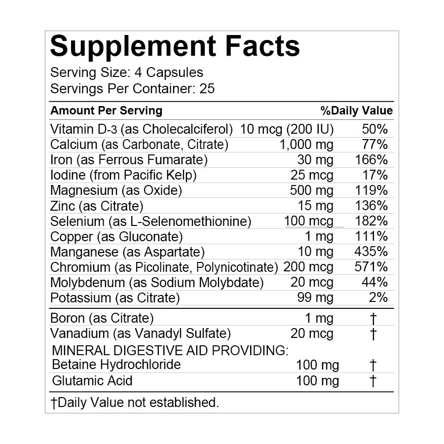 supplement minerals